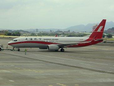 地上ならOKかもで上海航空機を撮影REVdownsize
