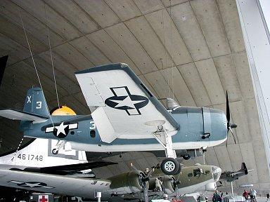 F4Fのジープ空母での相棒TBFアヴェンジャーdownsizie