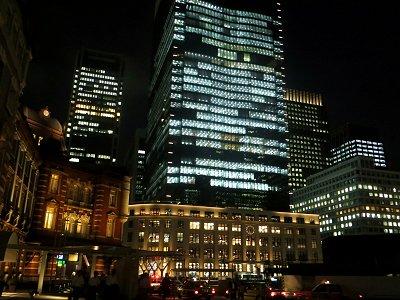 宵闇の東京駅丸ノ内口downsize