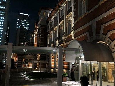 東京ステーションホテル玄関downsize