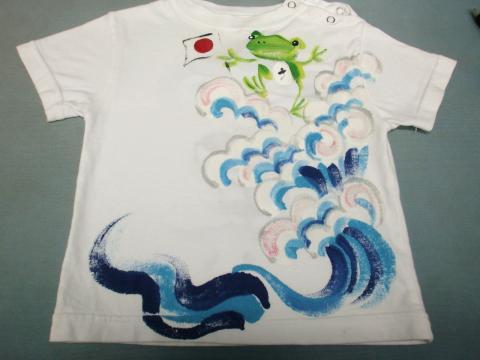子供Tシャツ黄ばみ20120531後1