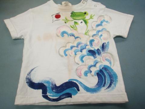 子供Tシャツ黄ばみ20120531前1