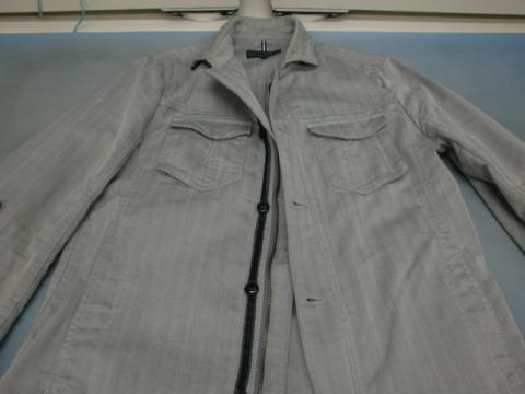 20121110襟黄ばみジャケット前1