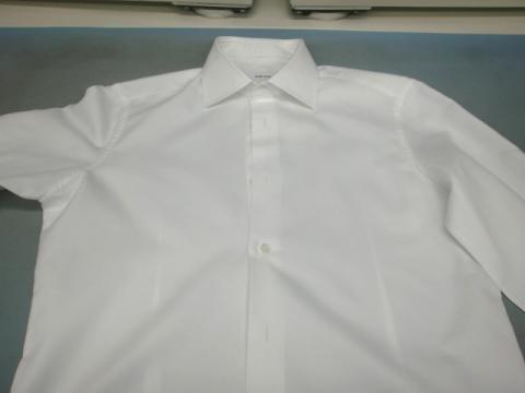 20121126黄ばみワイシャツ後1