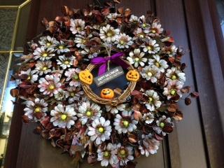 ハロウィン飾り 2014 リース