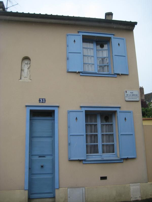 青のドアの家2