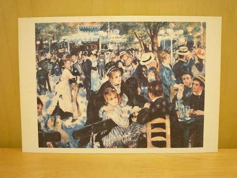 ルノワール《ムーラン・ド・ラ・ギャレット》 オルセー美術館