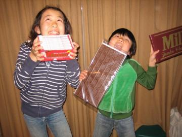 トキオ ハヤオ チョコレート