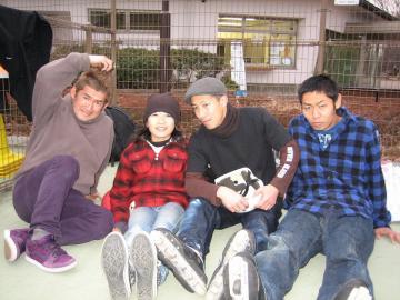 早川君 のりさん 王子 トキオ 記念写真