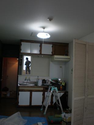 キッチン扉