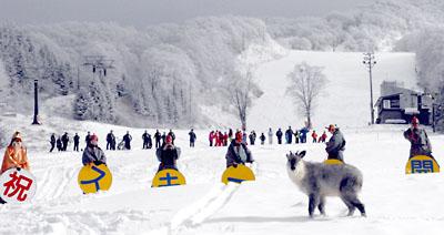 2011年蔵王温泉スキー場開き