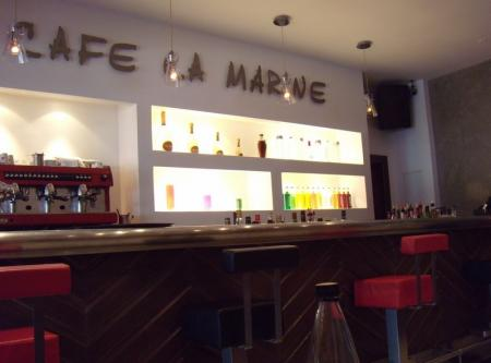 Cafe la Marine interieur