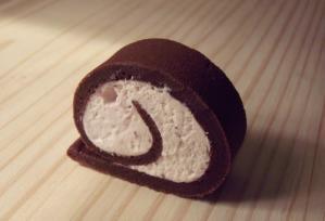 rollcake au chocolat