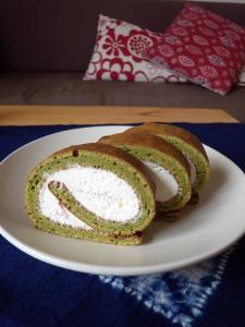 rollcake au the vert
