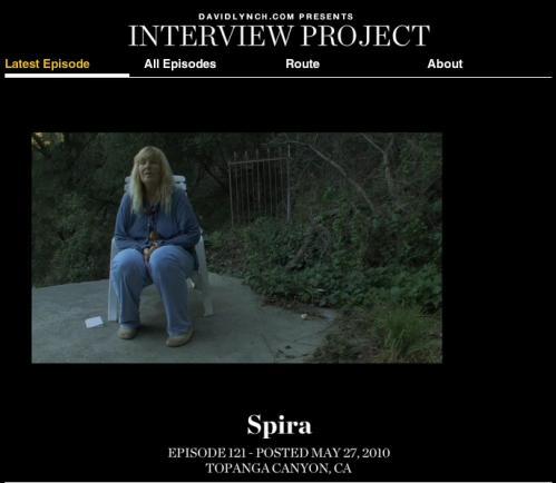 デビッド・リンチの「インタビュー・プロジェクト」