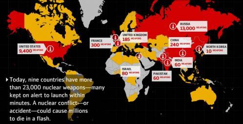 Global Zero Interactive Map