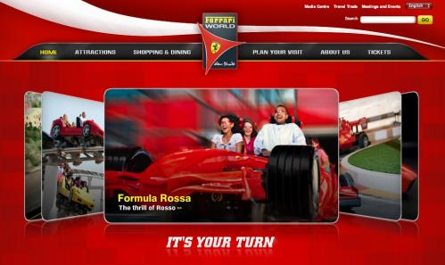 フェラーリ・ワールドが完成していました! @アブダビ