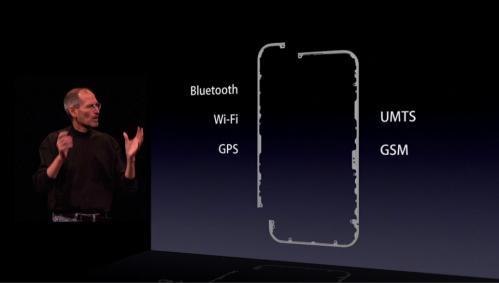 枠がアンテナだったとは…iPhone4…やりますね。