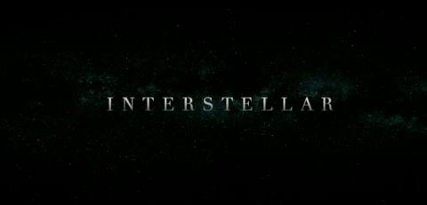 インターステラーだからロゴも星空で