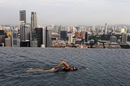絶対に私は行かない地上200mの庭園@シンガポール