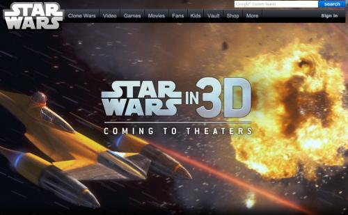 スターウォーズが全部3Dになるなんて!