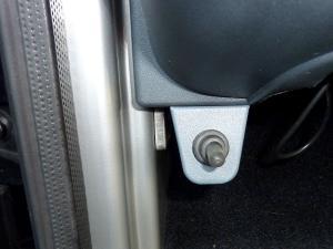助手席側スイッチ前