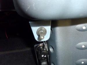 運転席側スイッチ前
