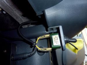 運転席側スイッチ横