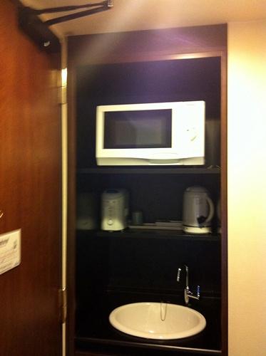 アクアホテルのキッチン