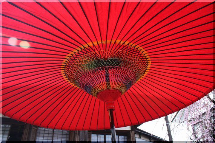 光受寺 和傘3