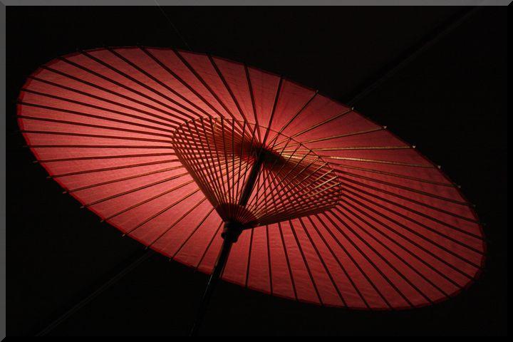 博物館和傘1
