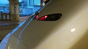新幹線の目