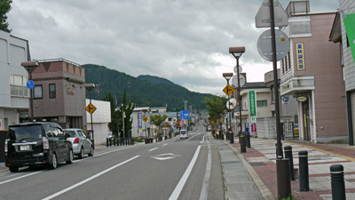 湯沢の町並み2
