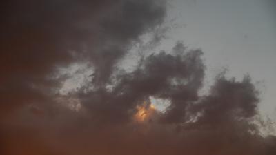 16日の夕焼け3