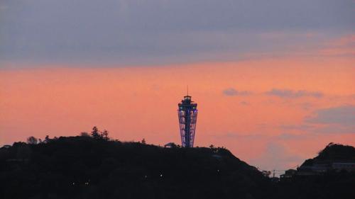 13日江の島の夜景