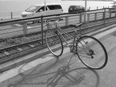誰かの自転車