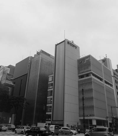 ソニーのビル