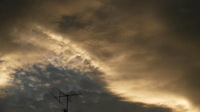 夕方の雲1