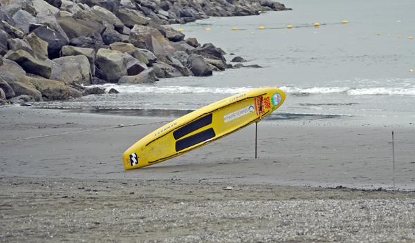 黄色のボード