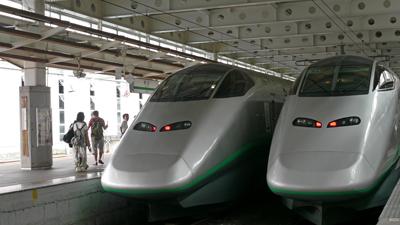 新庄駅の新幹線