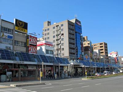 巣鴨の商店街は太陽光発電