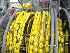 黄色いロープ