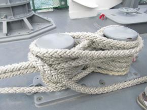 白いロープ