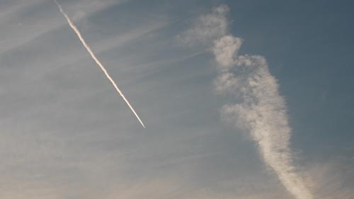 20日の夕方の雲2