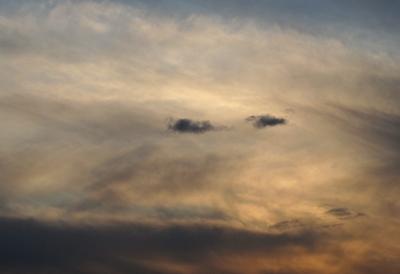 2つの目 雲