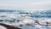 きらきらした海