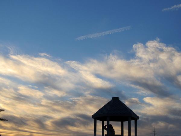 青い空が見たい