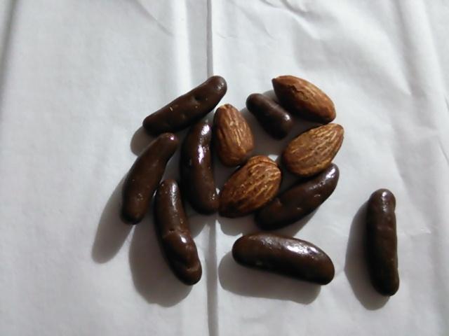 亀田の柿の種チョコ&アーモンド