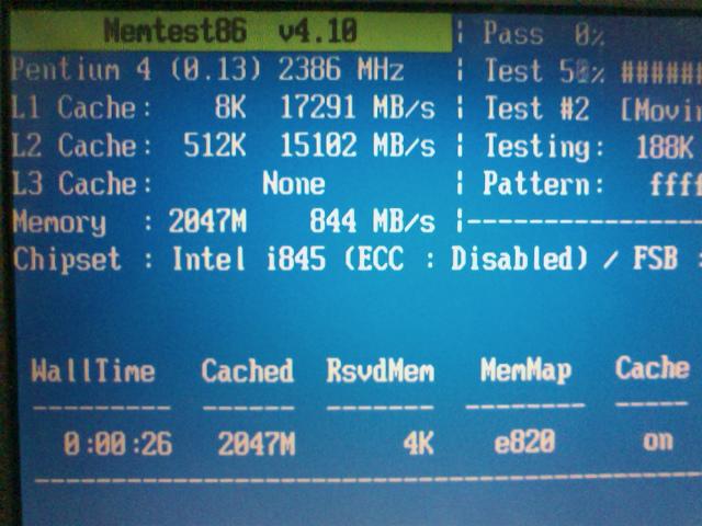 Memtest86+ 2GB