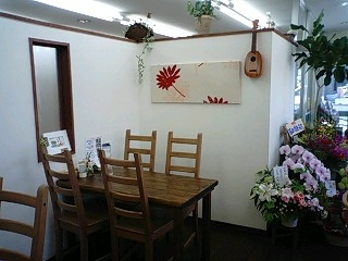 Dream Island cafe 店内